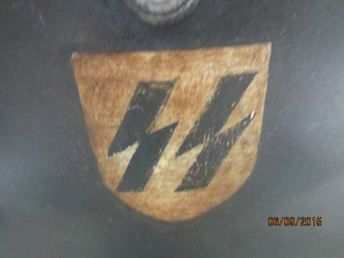 Second SS helmet fake or original