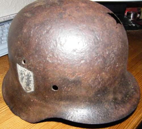 Opinions please- SS M42 sd Helmet