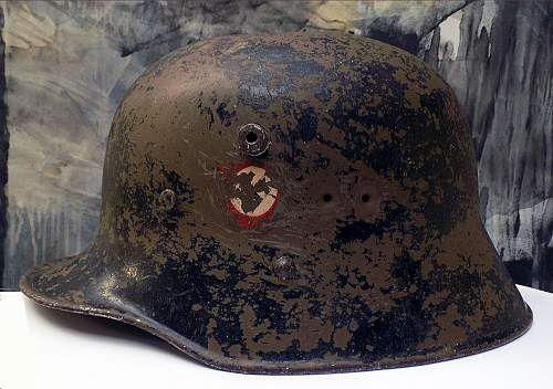 Help with austrian m17 SS VT helmet
