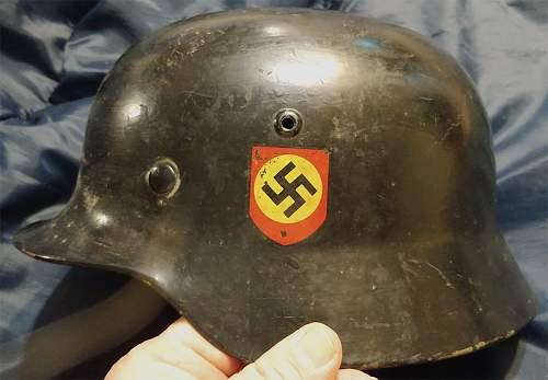 SS Helmet for review...