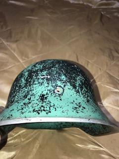 Frankenhelm Fiberglass SS helmet!