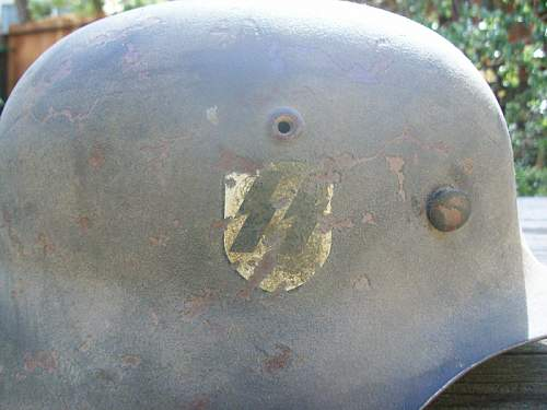 Need Opinions on Paratrooper & SS Helmets...