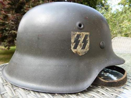 Can you help me with this helmet, please?