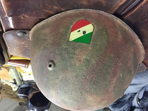 Who can tell me about this helmet - Italian SS