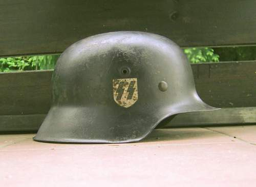 SS helmet - thoughts.
