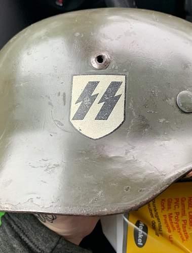 NS m35 dd ss helmet