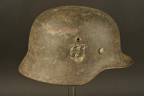 Waffen SS DD Helmet