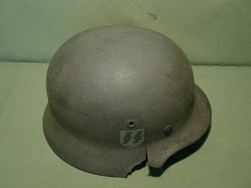 Help needed with this ss helmet