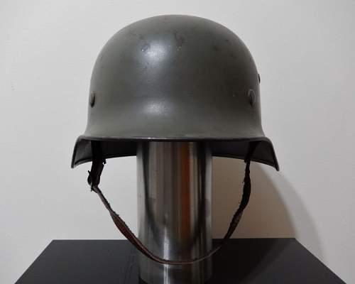 SS Steel Helmet - Original or Fake?