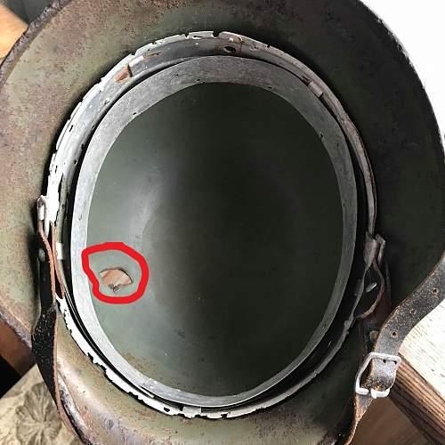 SS helmet M40/66