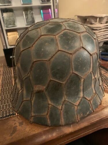 Need Authentication on SS Wire Helmet