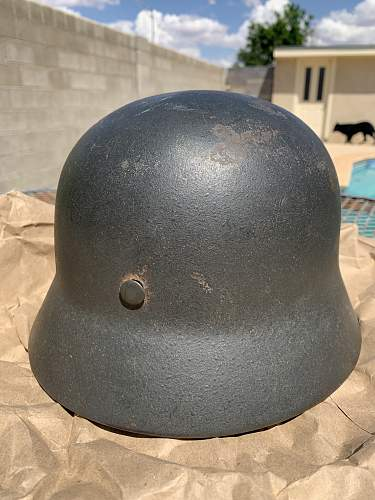 My New M40 SS helmet