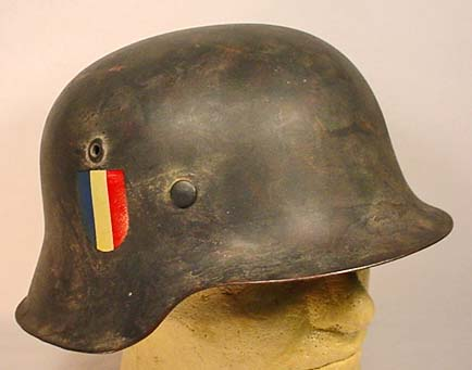 First bought helmet - told it was SS French division...  Need help