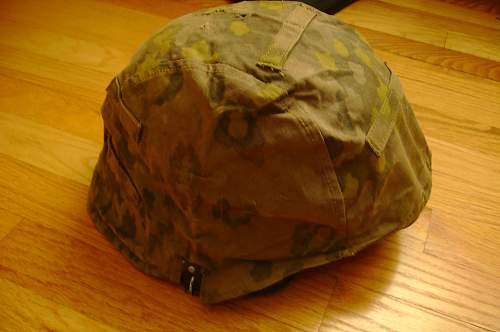 Waffen SS Camo Helmet Cover
