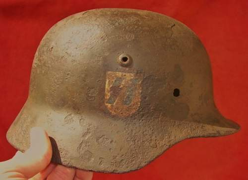 M35 SS helmet real or fake