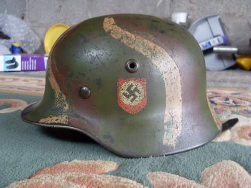 I am new here: Camo DD SS helmet