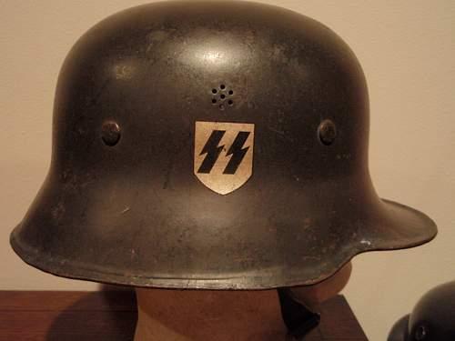 Black SS Helmet