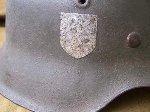 SS M42 steel helmet