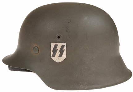 Croatian SS German Helmet?