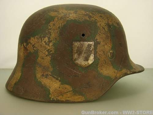 Do these camo ss helmets look authentic?