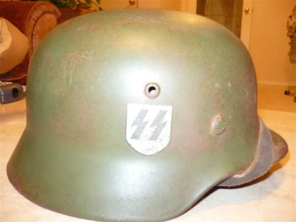 Double decal M40 SS helmet