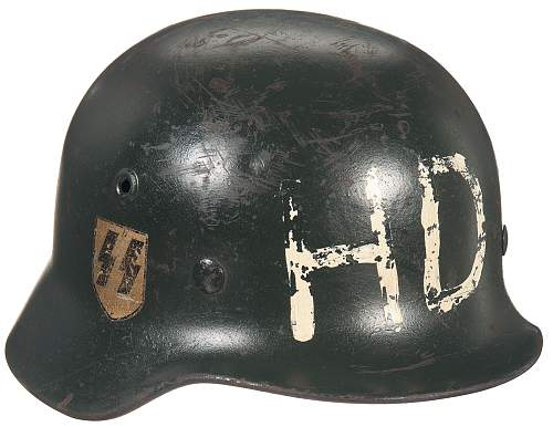 New SS helmet with HD paint