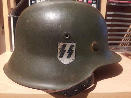 M42 SS helmet: real or FAKE?