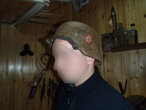 SS Helmet bought in small Russian village