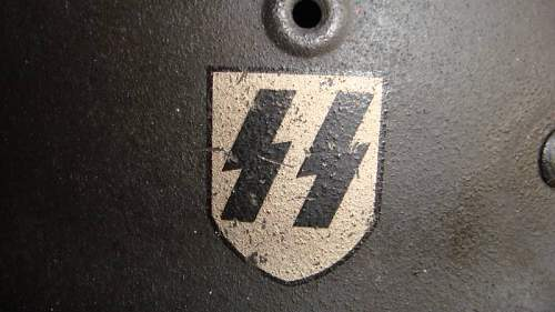 SS M40 single decal...