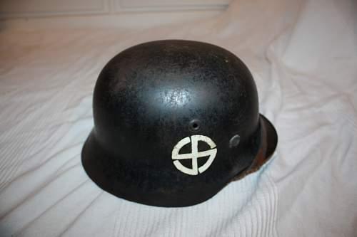 SS Schalburg Korps helmet, real?
