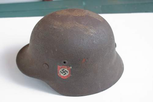 Fake SS Helmet