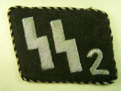 SS Fake Helmet Decal No:2