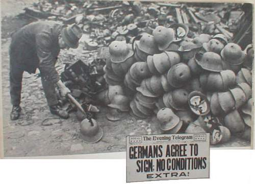Click image for larger version.  Name:pile-of-german-helmets.jpg Views:687 Size:43.1 KB ID:317721