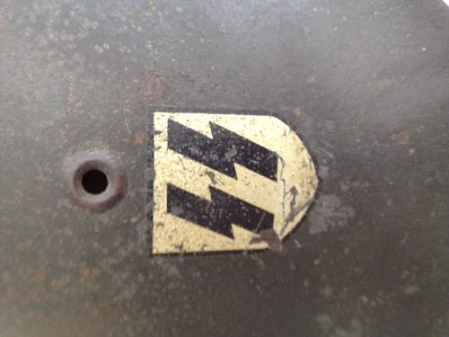 M40 SS Single Decal Helmet