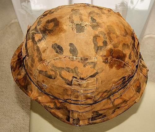 Need help !!! Waffen SS M42 + helmet cover