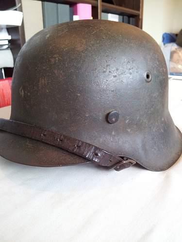 Missing decal M42 helmet