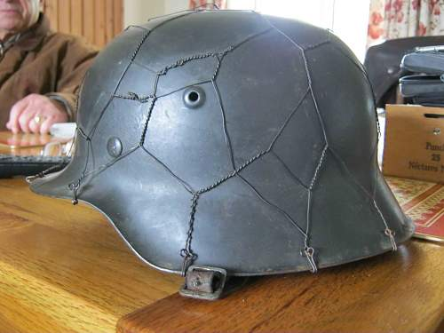 SS helmet, bought by a friend's wife, real or fake?