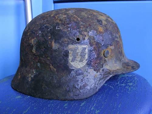 SS Relic helmet preservation