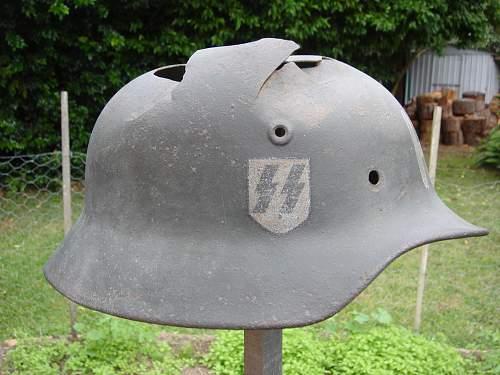 """Holger Danske """"SS"""" Helmet postscript"""