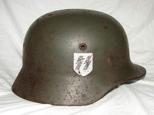 SS Helmet.Orginal or false?