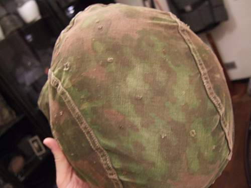SS first pattern helmet cover