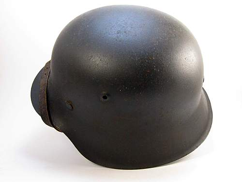 SS M42 Helmet Authentic or Fake?