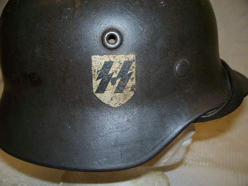 SS Helmet at Auction