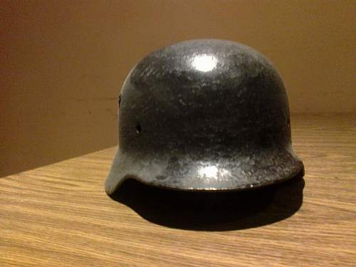 SS helmet - fake or real
