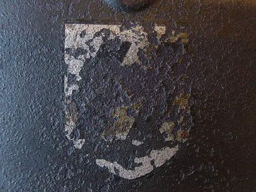 Click image for larger version.  Name:Waffen SS M40 steel helmet 002.jpg Views:258 Size:156.5 KB ID:4537