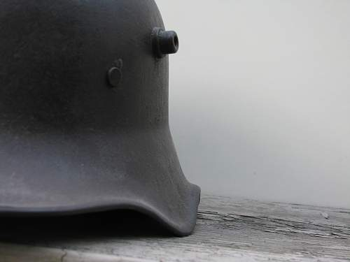 M1918 Cut-out helmet with early runes