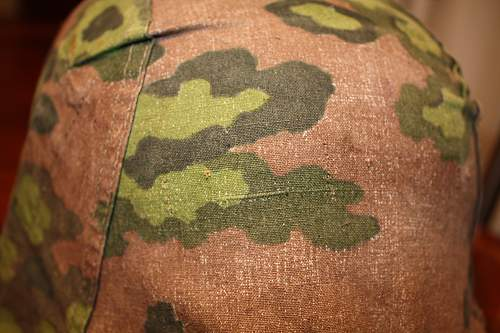 2nd model SS camo cover with foliage loops removed - opinions please