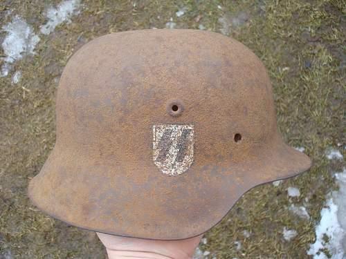 SS helmet relic, but looks good
