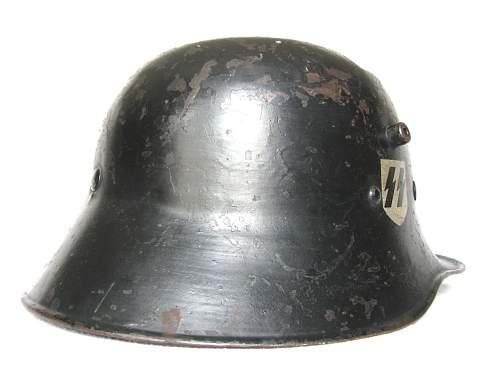 DD Allgemeine SS Helmet - Droopbill Style Shell