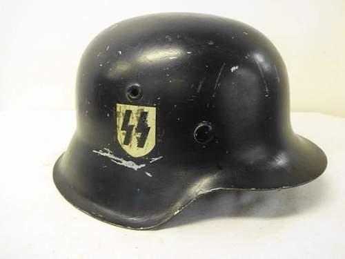 Ss parade helmet?